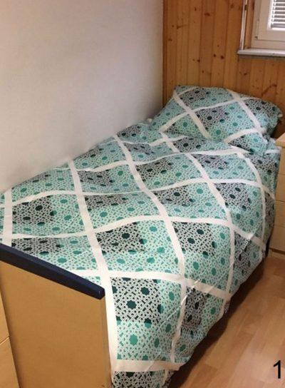 Saten posteljnina 16 Z
