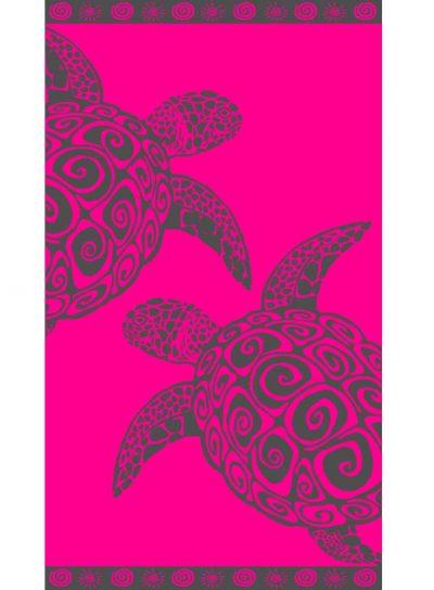 Plazna brisaca 100x175 FUCHSIA TURTLE 1